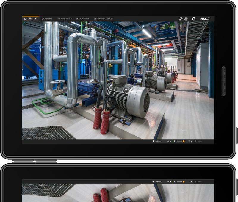 field maintenance with duplex video